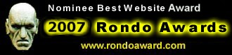 The official site for the Rondo Awards
