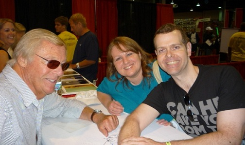 Adam West, Linda & Greg -- Photo credit: Count Gregula