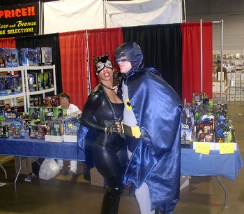 Catwoman & Batman -- Photo credit: Marco Tito