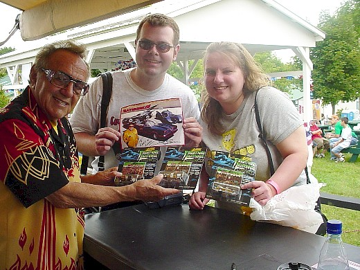 George Barris (King of Kustoms), Greg & Linda